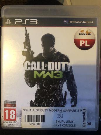 Gra na ps3 Call of Duty Modern Warfare 3