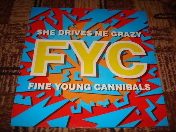 Płyty winylowe Fine Young Cannibals-She Drives Crazy-Maxi