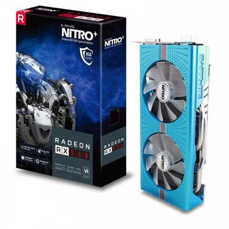 Sapphire Radeon Rx580 8Gb Nitro+ SE