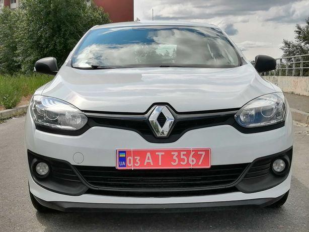 Renault Megane 2014 1.5 dCi без подкрасов