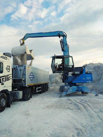 Wapno nawozowe suche, mokre, magnezowe, transport ciężarowy