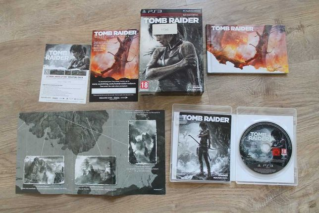 tomb raider ps3 survival edition