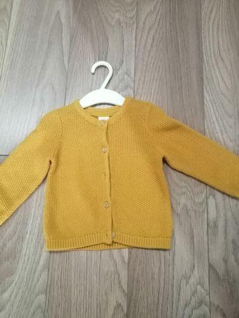 Sweterek hm rozm 74