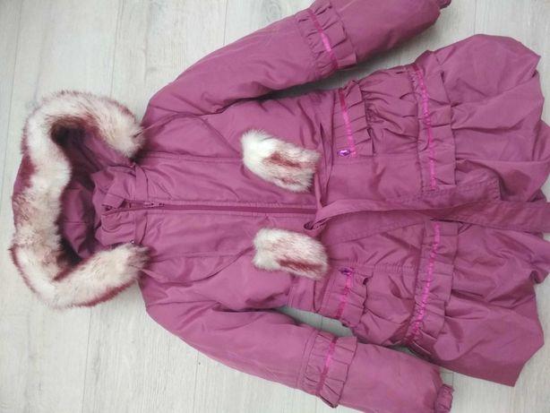 Куртка- пальто для дівчинки