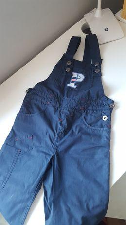 Spodnie ogrodniczki coccodrillo 98