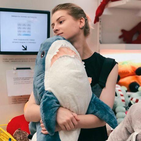 Акула из ІКЕА, мягкая игрушка-подарок, 100 см, ОРИГИНАЛ!!!