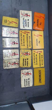 Tablice ostrzegawcze PRL