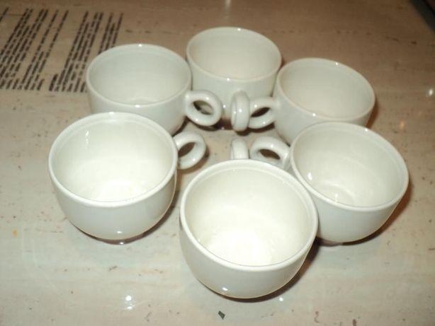 6 filiżanek do espresso włoskiej firmy PAGNOSSINI