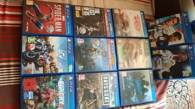 Gry na konsole ps4 ned for Speed i inne szt.