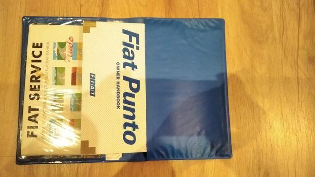 Fiat Punto II 2 książka i okładka