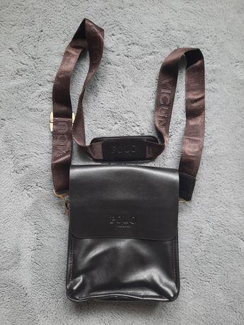 Polo Vicuna torba na ramię listonoszka skóra