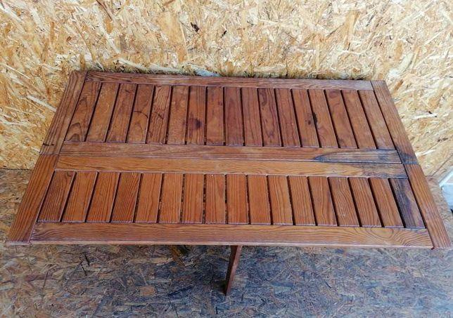 Mesa Vintage em Madeira - Dobrável