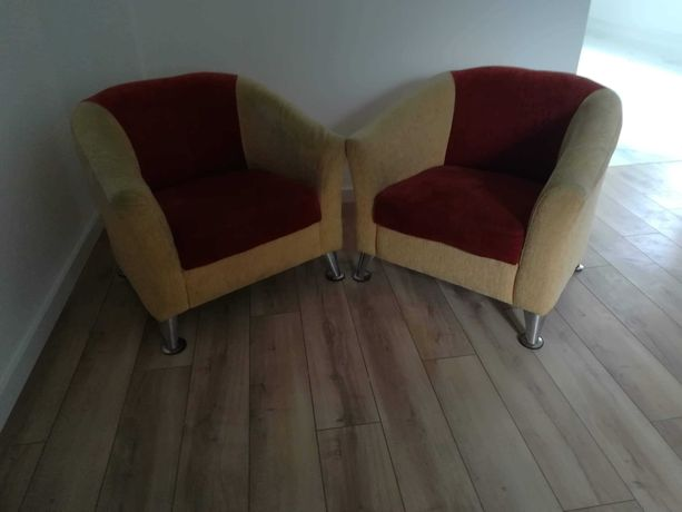 Do sprzedania dwa fotele
