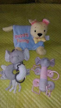 Zabawki dla niemowlaka 3 pack