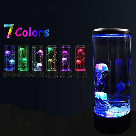 Ночник - аквариум с медузами