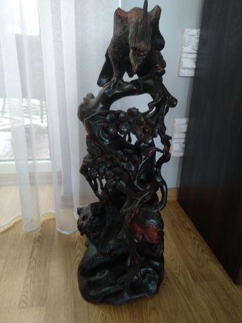 Rzeźba z litego drewna
