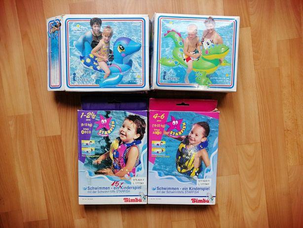 Детские надувные жилеты/игрушки Simba и Intex