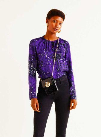 Новая нарядная блузка Mango Манго р. L , мой пролёт.