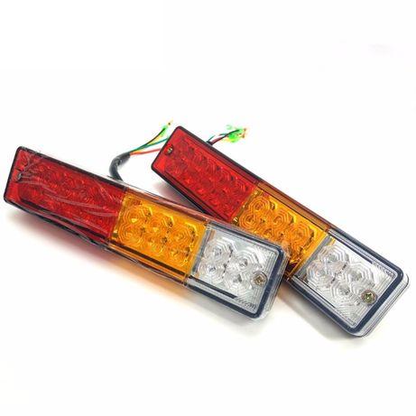 Farolins Rectangulares LED Atrelado / Carrinha / Reboque