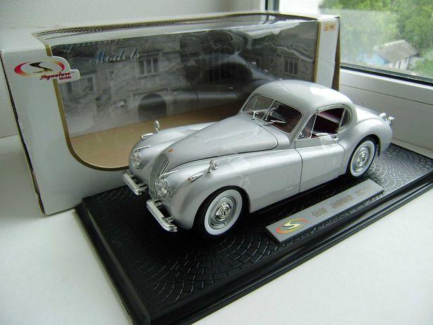 Лот №37. 1940 Jaguar XK120. 1/18.Signature.