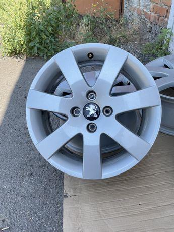 Диски R16 4x108 Citroen C2 C3 C4 Peugeot 207 208 307, Ситроен, Пежо