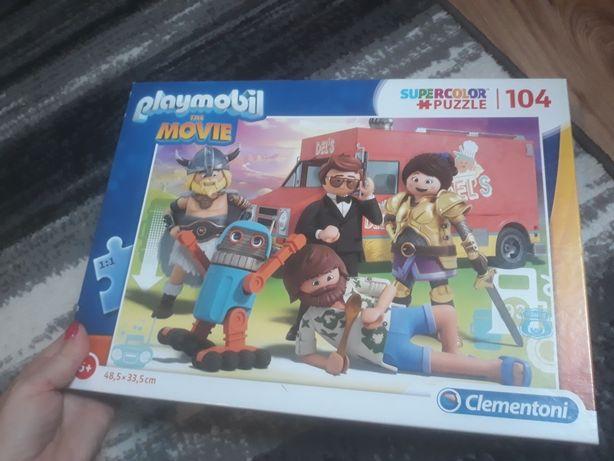 Puzzle Playmobile Clementoni  104 elementy