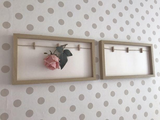 Drewniane ramki na zdjęcia