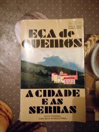 Livros A Cidade e as Serras - Eça de Queirós