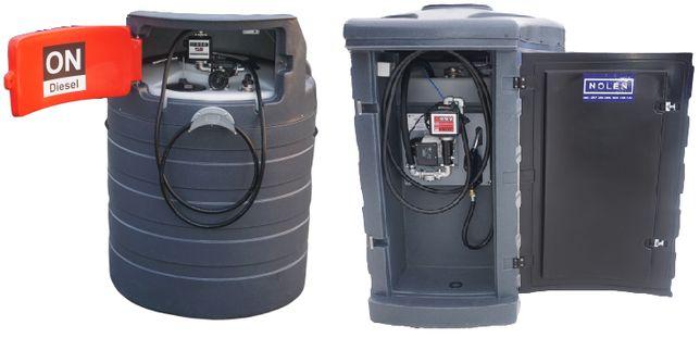 Zbiornik dwupłaszczowy na paliwo 1500L - 2500L