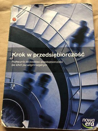 """Podręcznik dla szkół ponadgim. ,,krok w przedsiębiorczość"""""""