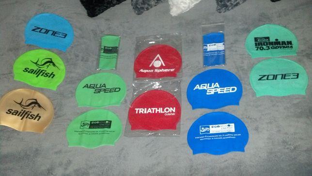 Czepki pływackie Sailfish Aqua Sphere Speed Zone3 Ironman Triathlon