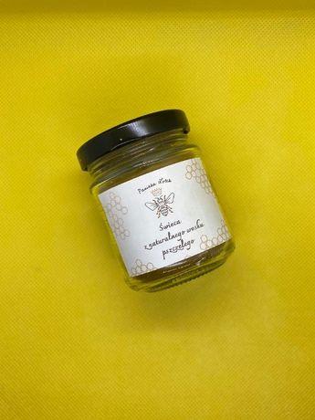 Świeca z wosku pszczelego 100% naturalna