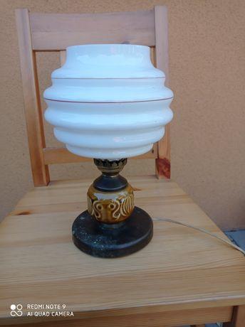 Stara porcelanowa lampa elektryczna okres PRL