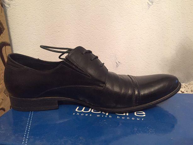 Туфли кожаные wellfare классика
