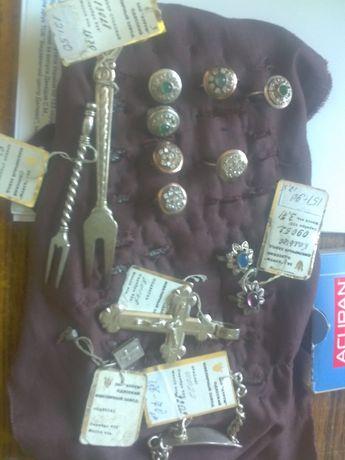 Серебряные вилочки, ложки продам