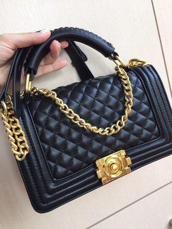 Новая сумка кожa Chanel натуральная кожа