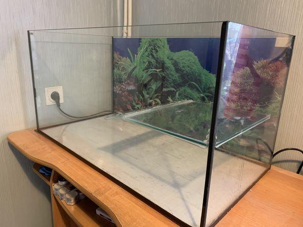 Zestaw Akwarium + osprzęt dla żółwia wodnego cały zestaw