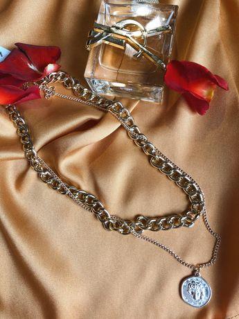 Винтажное многослойное ожерелье-чокер