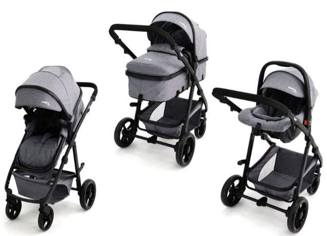 Carrinho Bebé Duo Convertível em Trio Asalvo em BOM ESTADO