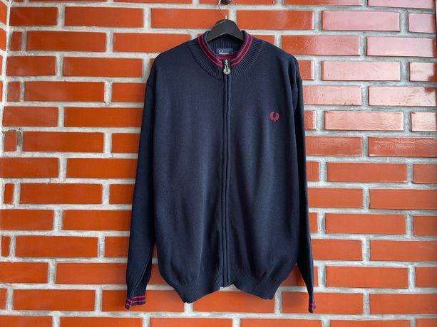 Fred Perry мужской свитер джемпер Кардиган размер XL фред Пэрри Б У