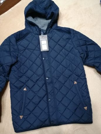 Куртка деми парка пуховик підліткова 164см