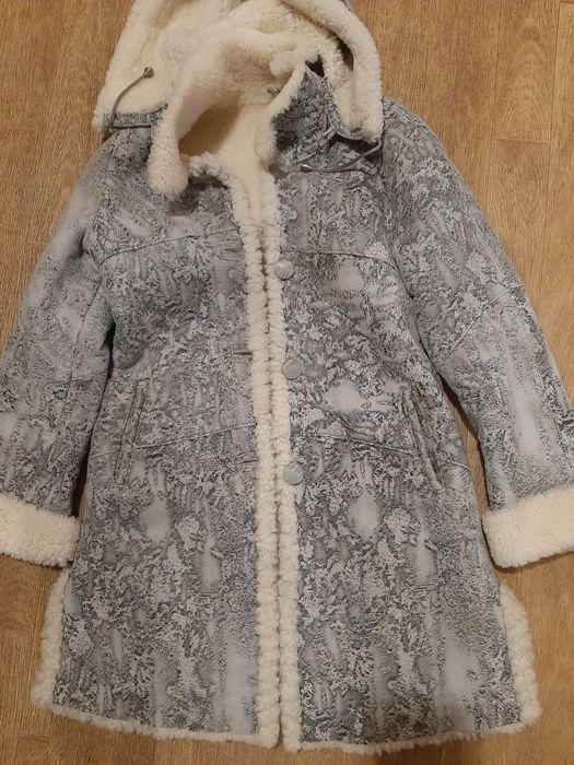 Продам дублёнку для девочки натуральная Новомосковск - изображение 1