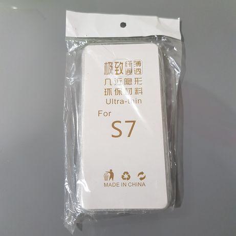 Capa Samsung S7 Nova Gel Transparente