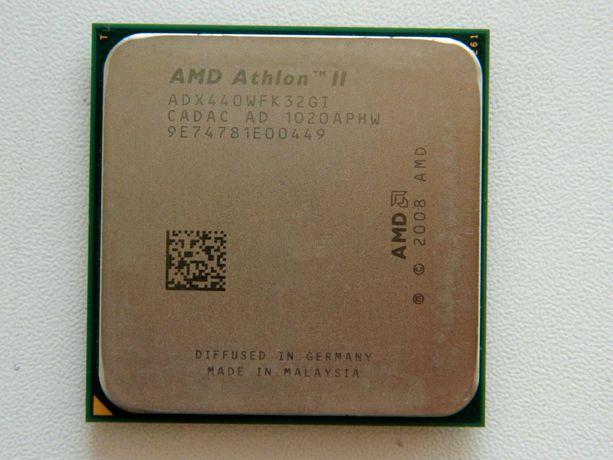 Процессор AMD Athlon II x3 440 (AM2+/AM3, 3.0 ГГц) 650 рублей
