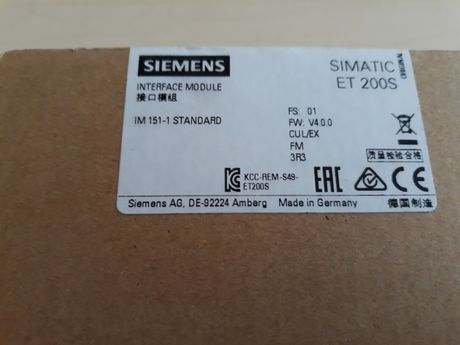 Siemens 6ES7151-1AA06-0AB0 Moduł interfejsu IM 151-1 standard ET200S