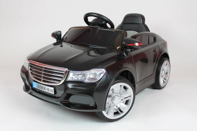 Samochód dla dzieci na akumulator Miękkie koła M12 Czarny