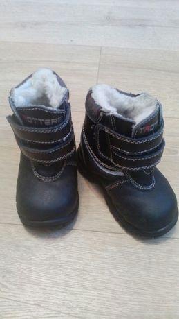 Зимние ботинки, сапоги, р.20,  плюс   подарок