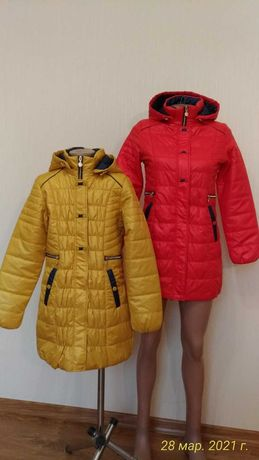 Розпродаж!! Нові демісезонні куртки (пальто), розм. 134-152,  200 грн.