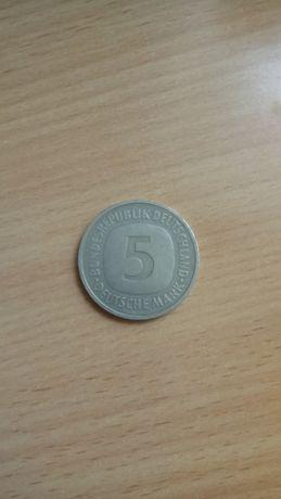 5 марок 1990г. Германия