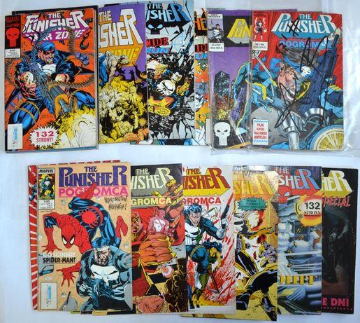 the Punisher Komiksy Dużo komiksów Na SZTUKI Tm-semic Marvel